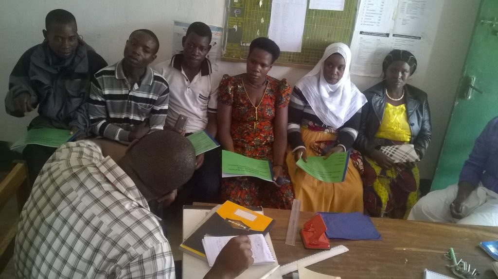 Community health workers' orientation for defaulter tracking
