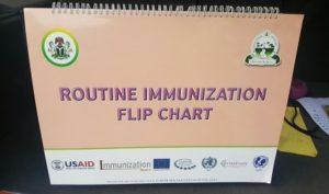 Routine immunization flip chart
